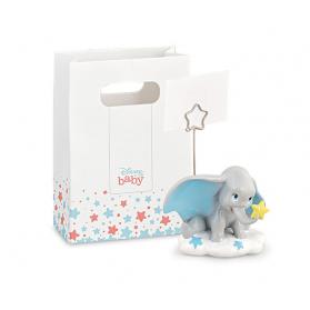 Bomboniera Elefante Dumbo Disney con clip
