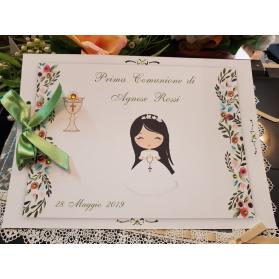 Guest Book Prima Comunione fiori