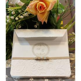 Invito Matrimonio in rilievo